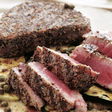 Grilled Salt and Pepper Tuna