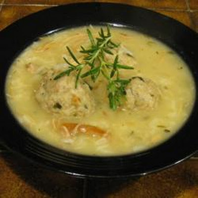 Chicken and Herbed Dumpling Soup