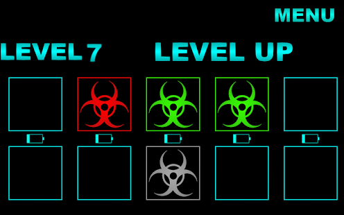 Danger icon game - screenshot