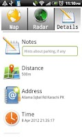Screenshot of CarLocator SMS PlugIn