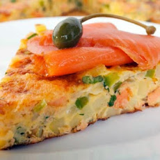 Salmon Frittata (Weight Watchers)