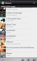 Screenshot of Music Pump DAAP Player
