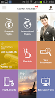Screenshot of Asiana Airlines