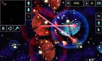 Screenshot of Star Armada RTS