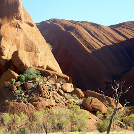 Uluru Australia  by Colette Edwards - Nature Up Close Rock & Stone