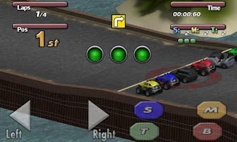 Screenshot of Time to Rock Racing