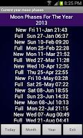 Screenshot of Sense Analog Small Clock 4x1