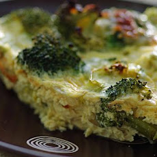 Crustless Broccoli and Cheese Quiche