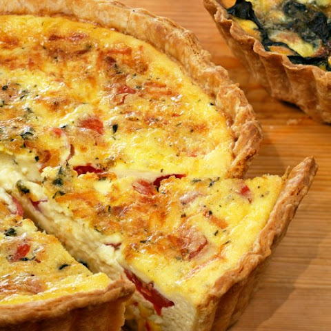 Lobster, Corn And Basil Quiche Recipes — Dishmaps