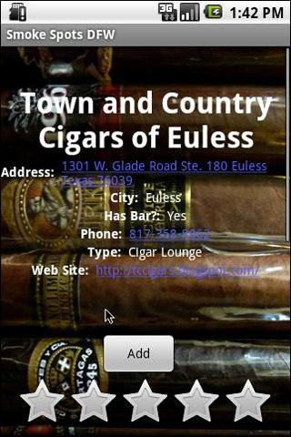DFW Cigar Smokers Guide-And1X