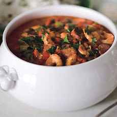 Shrimp, Chicken, and Andouille Gumbo