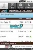 Screenshot of Beef Market Central for Phone