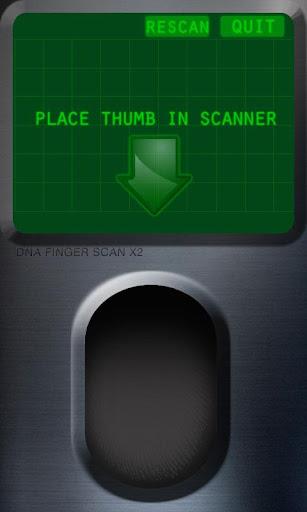 DNA ID Finger Scanner