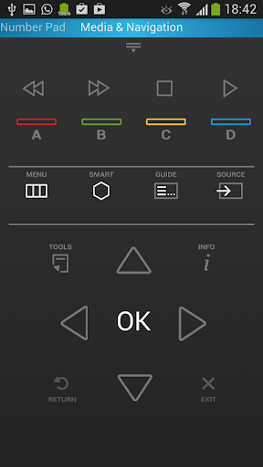 Smart TV Remote (for Samsung) - screenshot