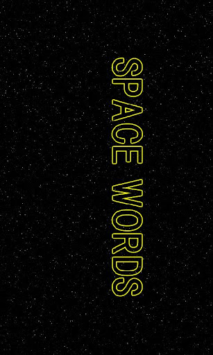 SPACE WORDS β