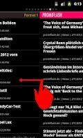 Screenshot of Die Nachrichten