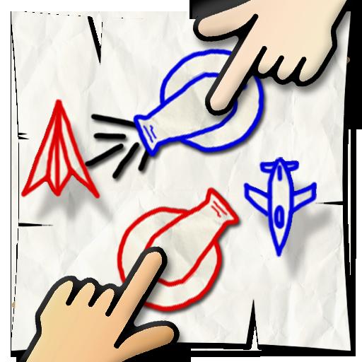 指飛機大戰 (2人遊戲) 休閒 App LOGO-硬是要APP
