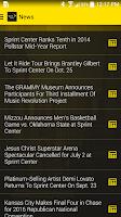 Screenshot of Sprint Center