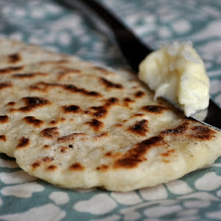 Sesame Flatbreads with Salted Honey Butter