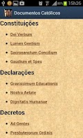 Screenshot of Documentos da Igreja