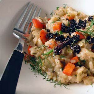 Barley Risotto with Fennel and Olives