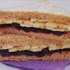 Fruit and Nut Sandwich