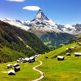 Zermatt, Switzerland by Tyrell Heaton - Landscapes Mountains & Hills ( iphone4, zermatt, switzerland )