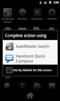 Screenshot of AutoRotate Switch