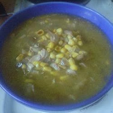 Chinese Style Chicken And Sweetcorn Soup