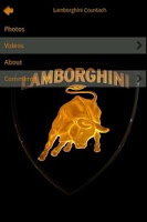 Screenshot of Lamborghini Encyclopedia