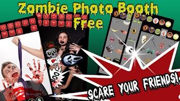 Screenshot of Zombie Photo Booth Free