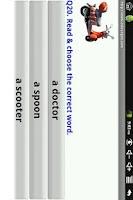 Screenshot of Phonics Read O Words