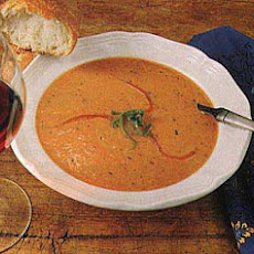 Cream of Red Bell Pepper Soup