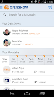 Screenshot of Open Snow Ski Forecasts