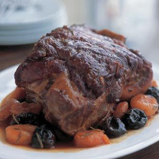Pork Roast with Dried-Fruit Compote