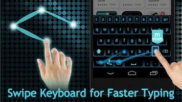 Screenshot of Fancy Neon Keyboard