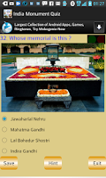 Screenshot of India Monument Quiz