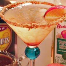 Caramel Apple Pie Martini
