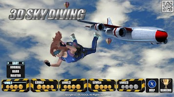 Screenshot of 3D SkyDiving for Smart TV