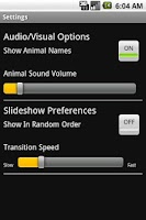 Screenshot of Animal Sounds