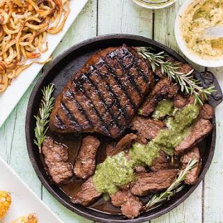 Grilled Balsamic-Garlic Steak