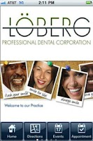 Screenshot of Loberg Professional Dental Cor