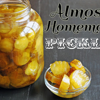 Almost Homemade Pickles