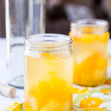 Peach Mango Pineapple White Sangria