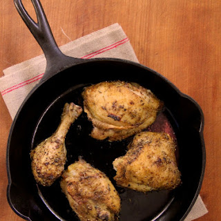 Herb-Rubbed Roast Chicken