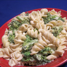 Broccoli and Rotini Pasta