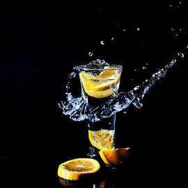 by Harish Khanna - Abstract Water Drops & Splashes