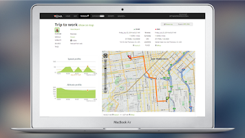 Screenshot of GPS Mileage Tracker