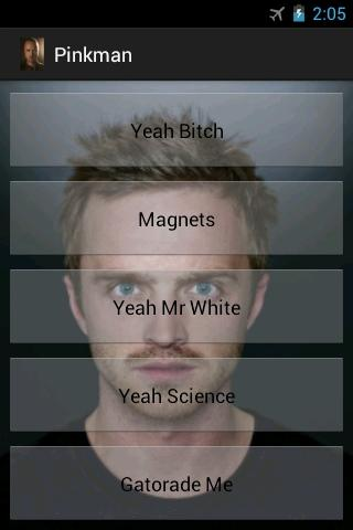jesse-pinkman-soundboard for android screenshot