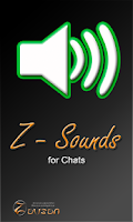 Screenshot of Z - Sounds for chats